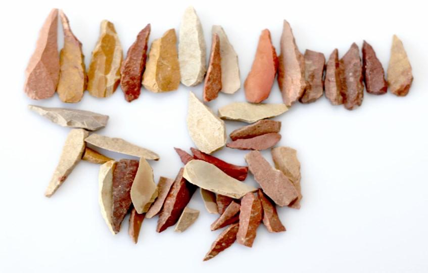 Aboriginal Stone Flake Artefacts